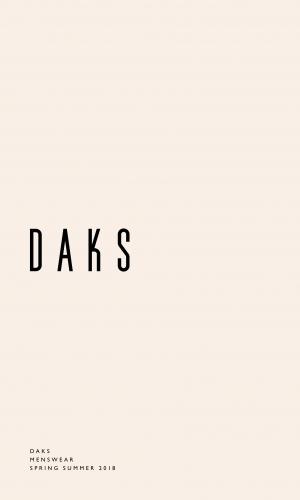 DAKS_SS18_Menswear_Commercial_Lookbook_1