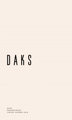 DAKS_SS18_Womenswear_Commercial_Lookbook_1